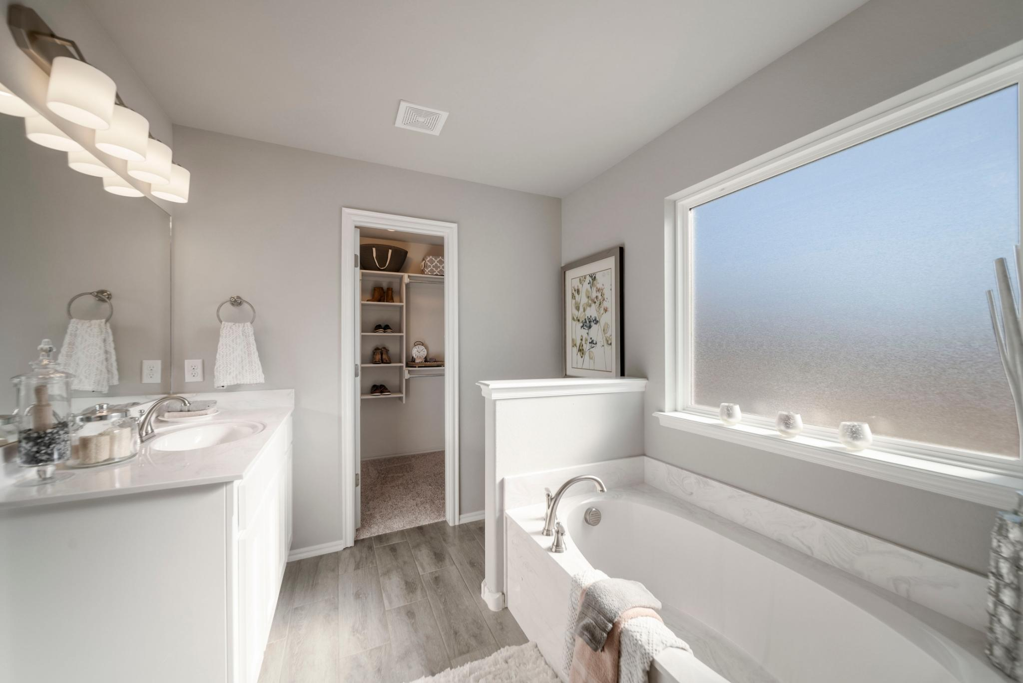 Bathroom featured in the Tahoe By Capital Homes in Tulsa, OK