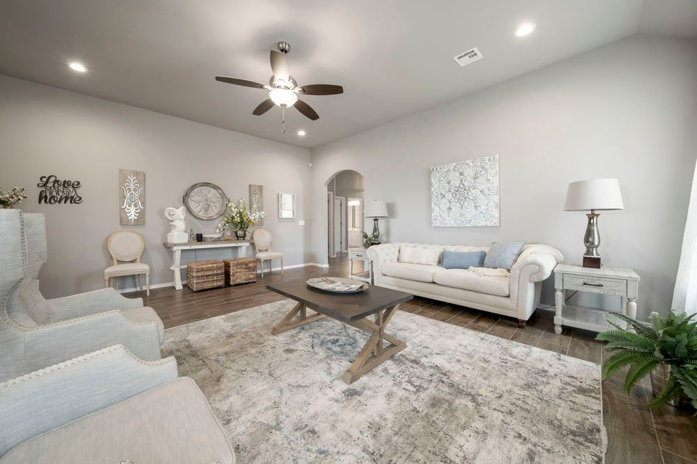 Living Area featured in the Lincoln By Capital Homes in Tulsa, OK