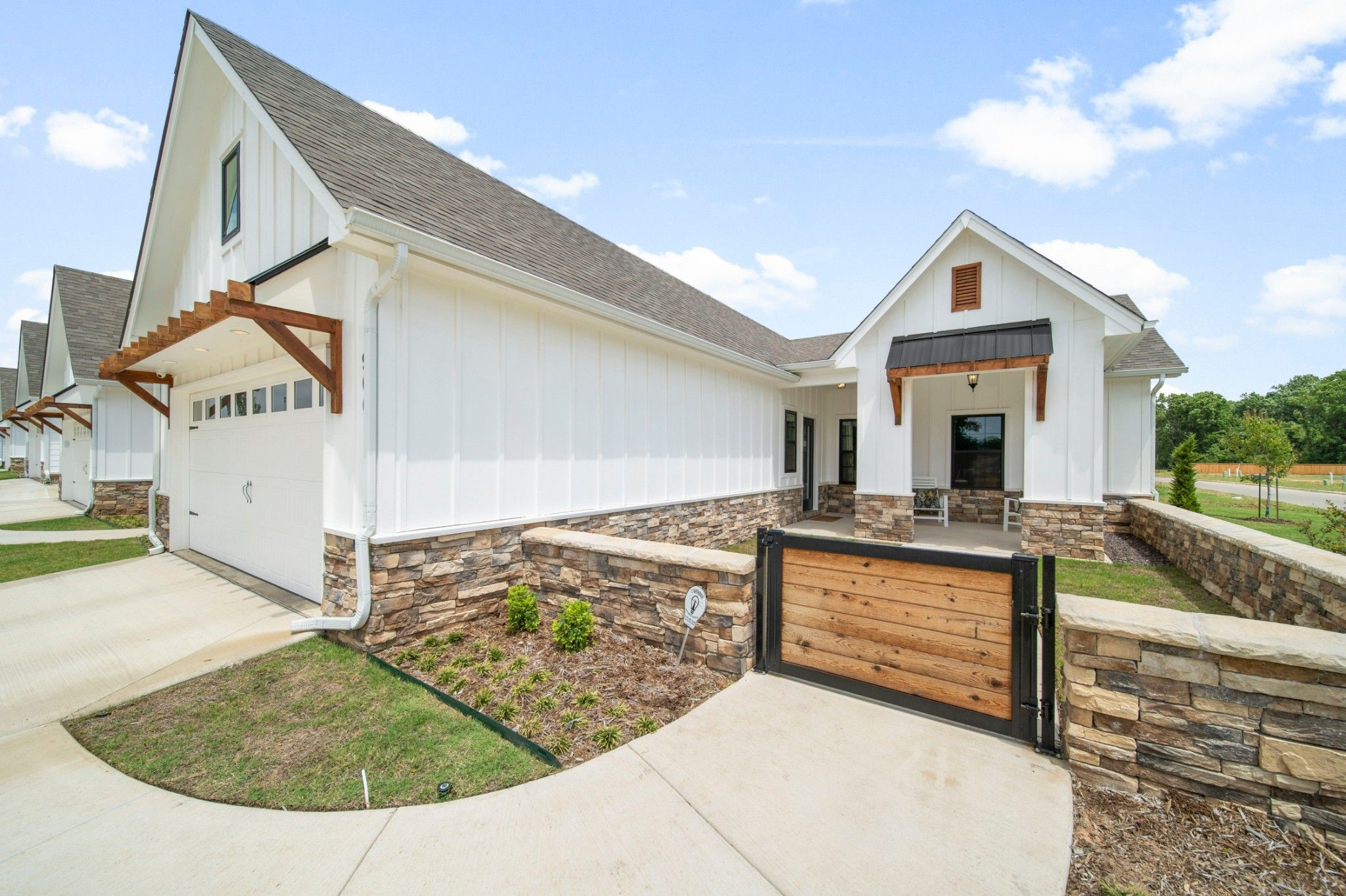 Exterior featured in the Evergreen By Capital Homes in Tulsa, OK