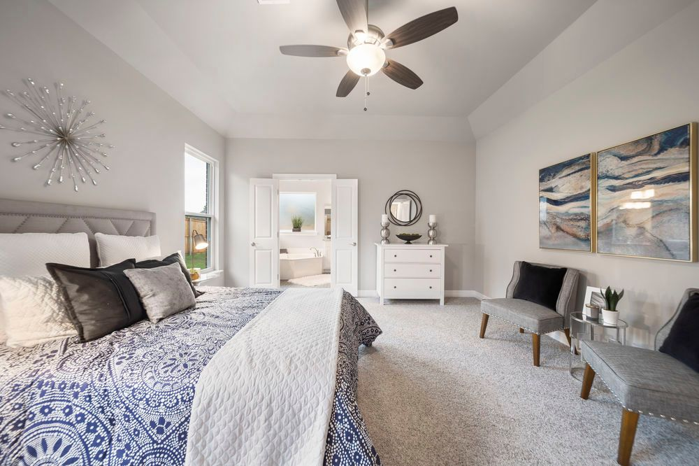 Bedroom featured in the Concord By Capital Homes in Tulsa, OK
