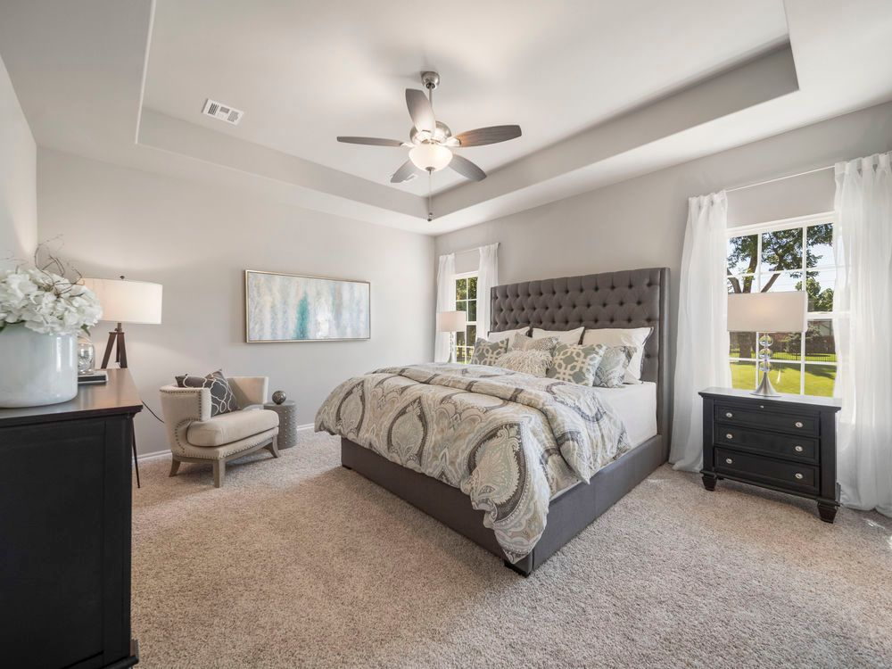 Bedroom featured in the Elm By Capital Homes in Tulsa, OK
