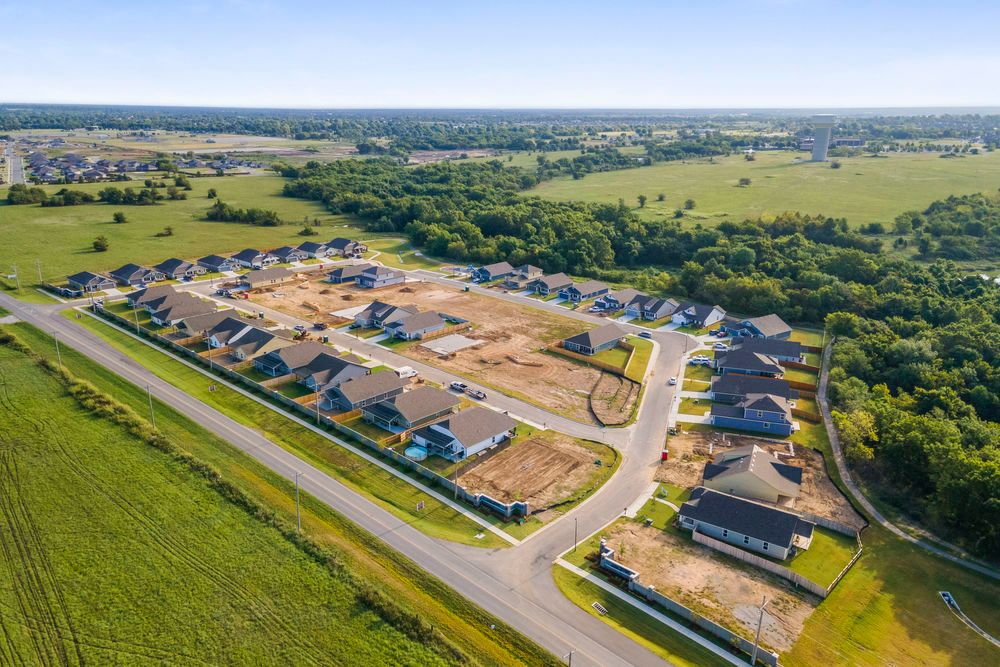 'The Cottages at Mingo Crossing' by Capital Homes in Tulsa