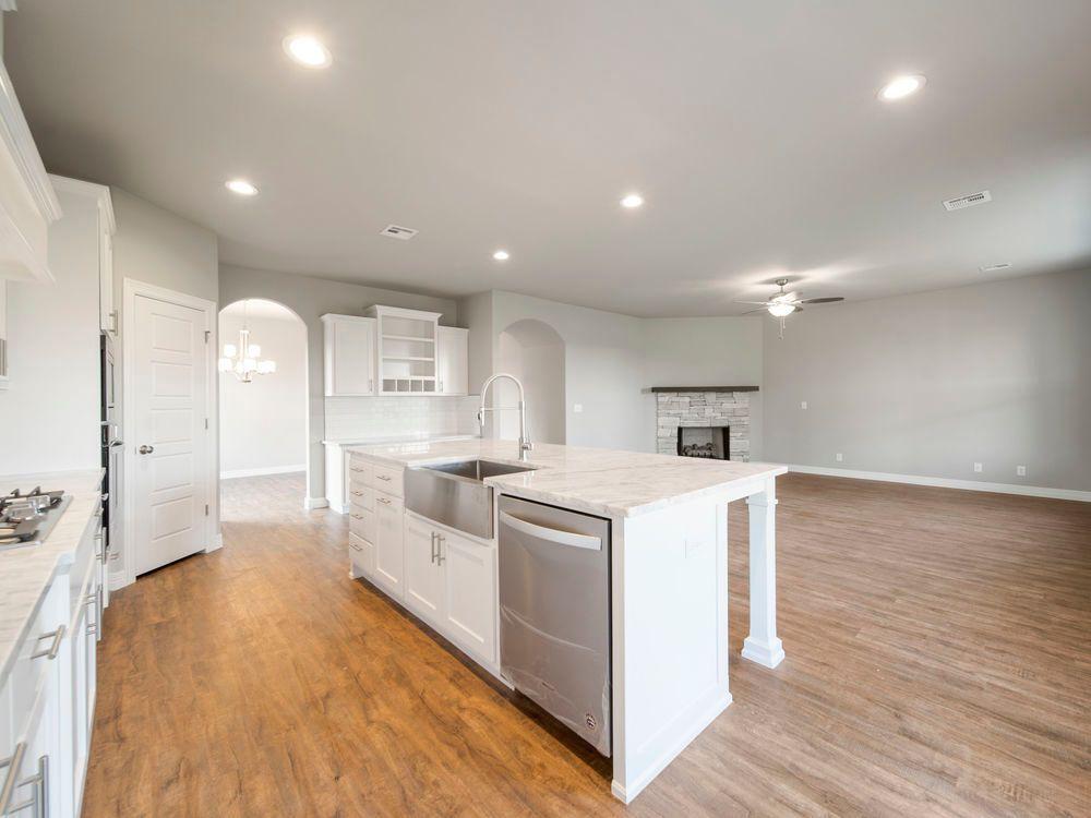 Kitchen featured in the Hartford By Capital Homes in Tulsa, OK