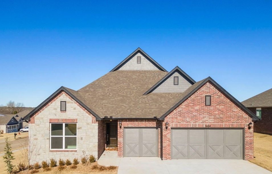 Exterior featured in the Hartford By Capital Homes in Tulsa, OK