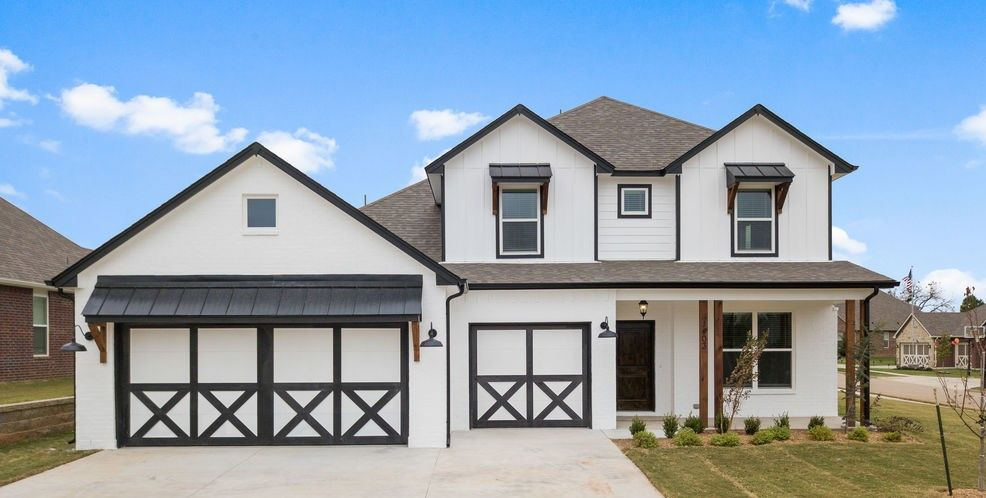 Exterior featured in the Olympia By Capital Homes in Tulsa, OK