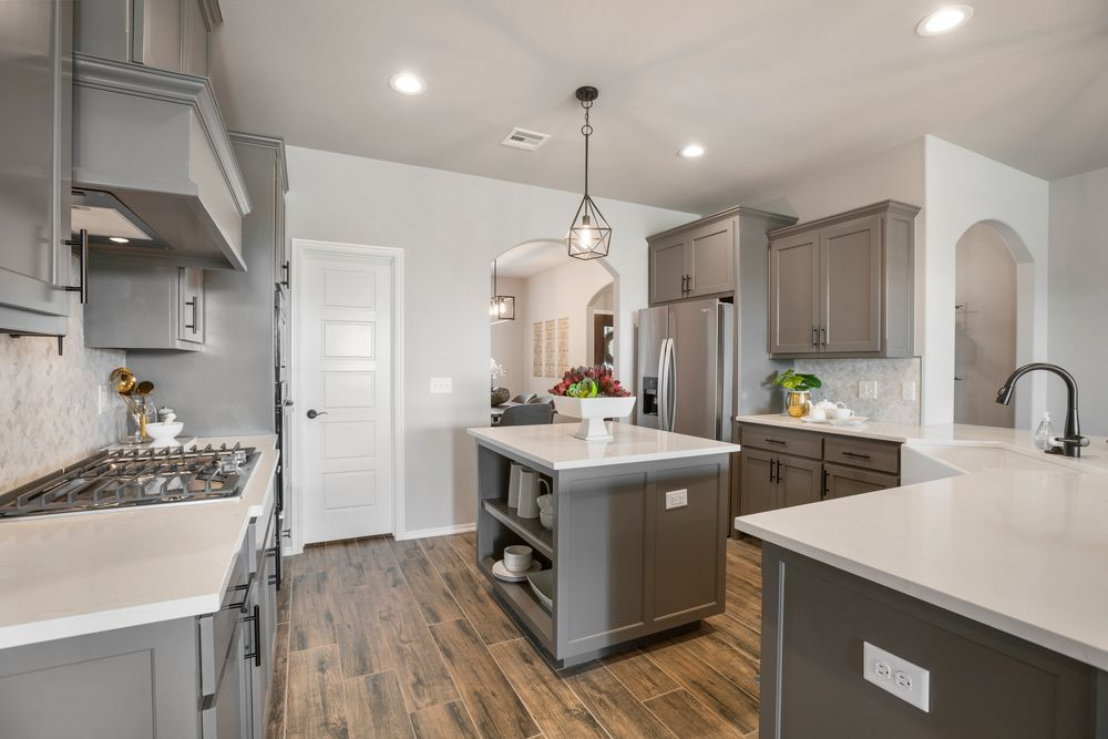 Kitchen featured in the Concord By Capital Homes in Tulsa, OK