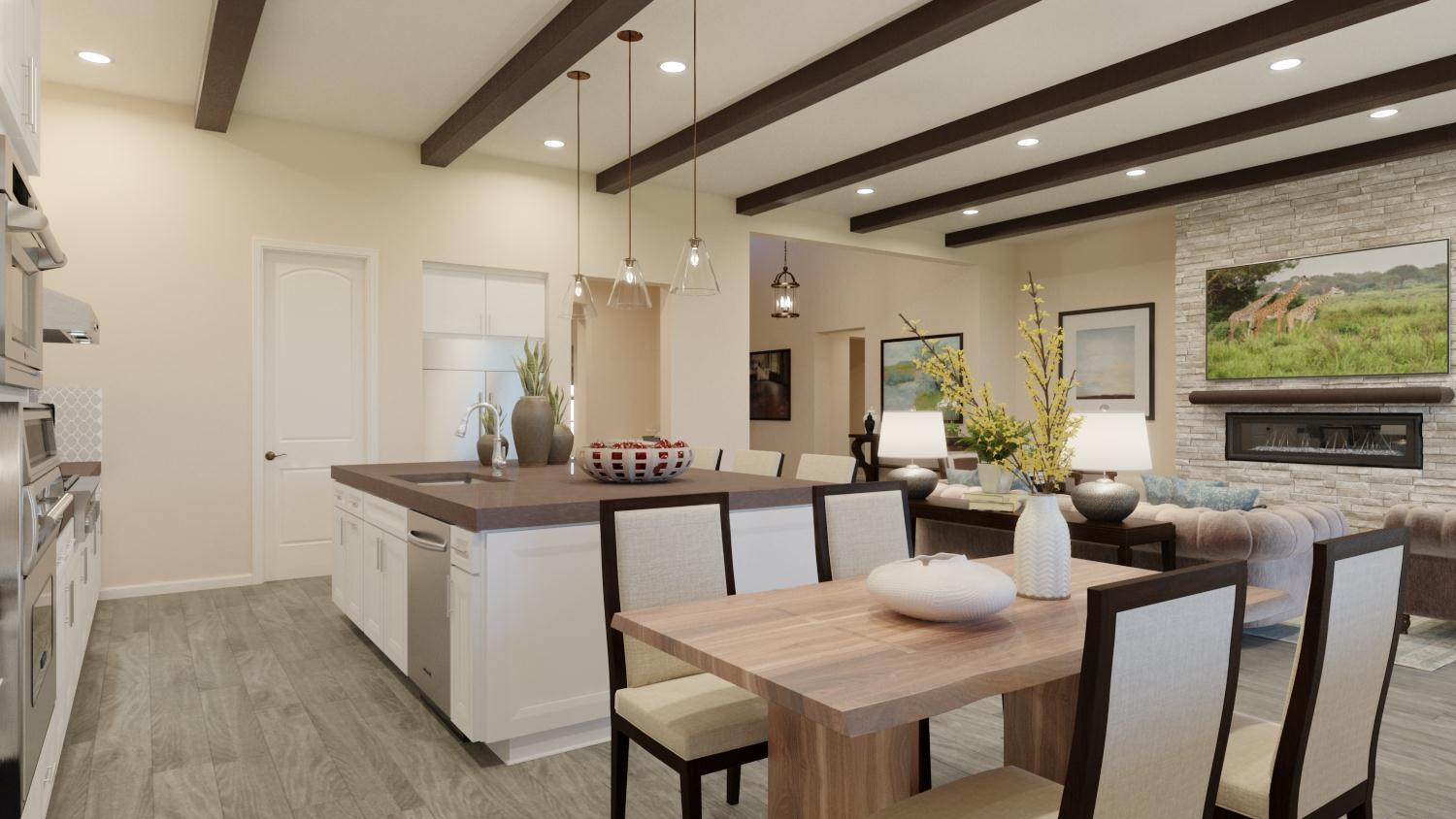 Living Area featured in the Plan 1 By Capital Pacific Homes in Riverside-San Bernardino, CA