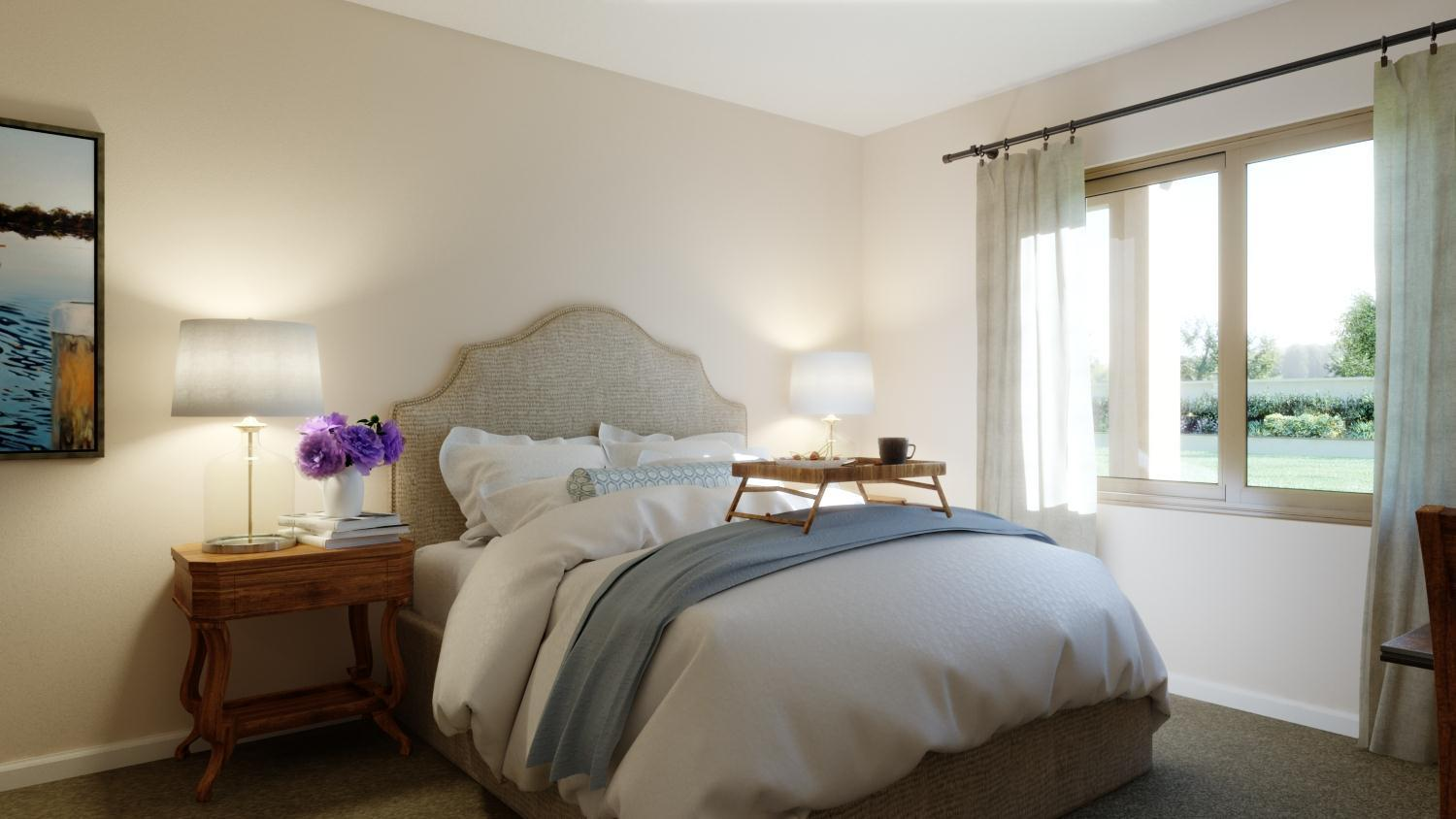 Bedroom featured in the Plan 1 By Capital Pacific Homes in Riverside-San Bernardino, CA