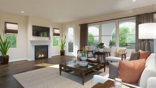 Greatroom-in-Plan 1-at-Vera Lane-in-Carson
