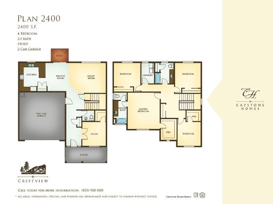 Floor Plan:Crestview Plan 2400 Floorplan