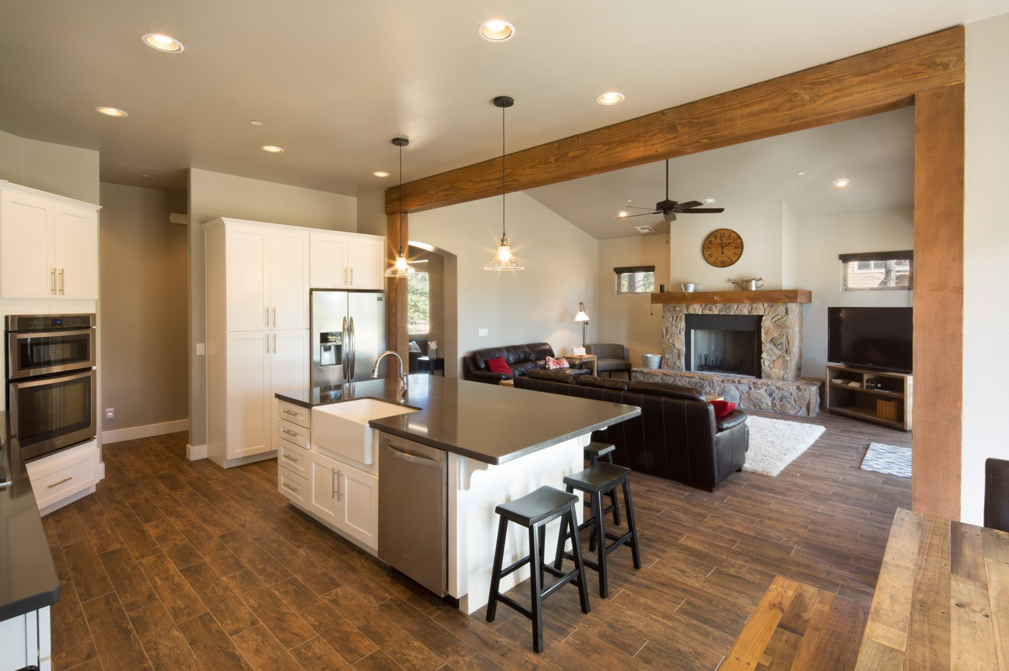 Living Area featured in the Flagstaff Ranch Plan 2308 By Capstone Homes in Flagstaff, AZ