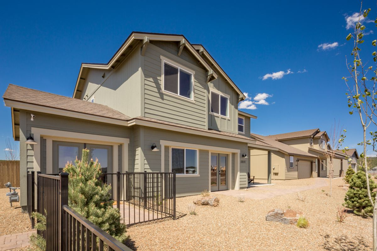 Exterior featured in the Flagstaff Meadows Plan 1941 By Capstone Homes in Flagstaff, AZ