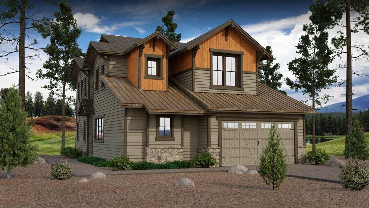 Aspen Ridge Plan 2 Artist's Rendering