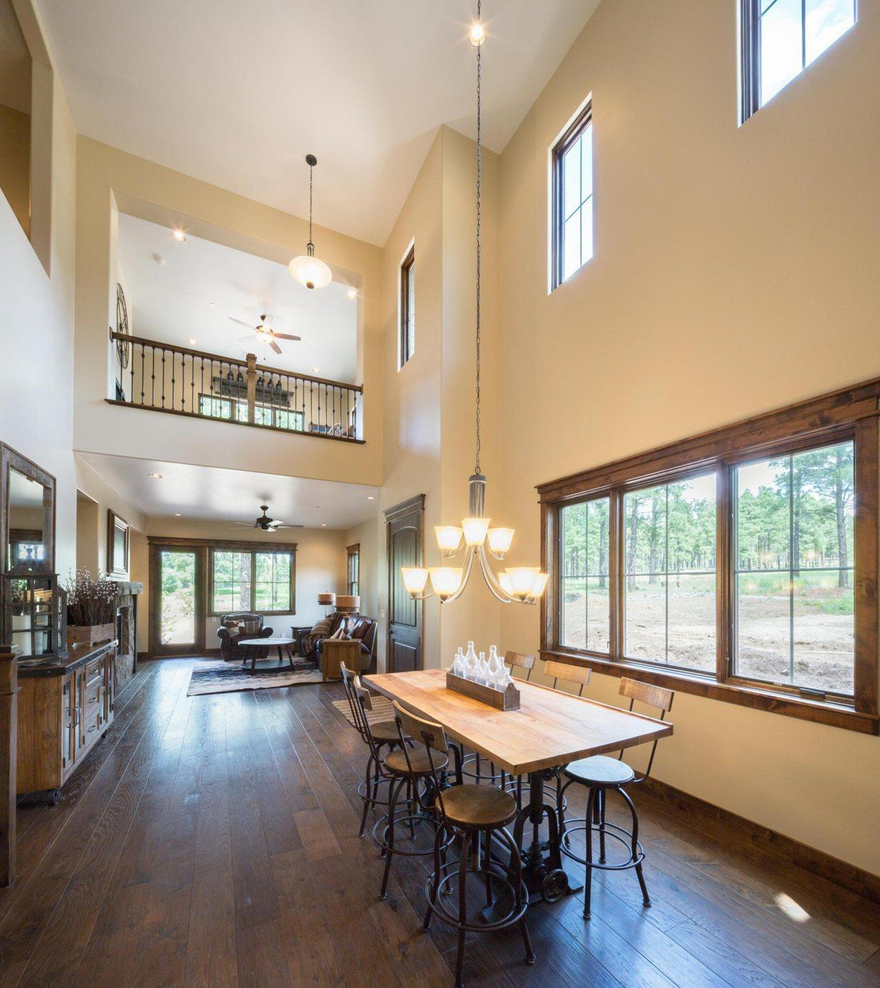 Living Area featured in the Aspen Ridge Plan 2 By Capstone Homes in Flagstaff, AZ
