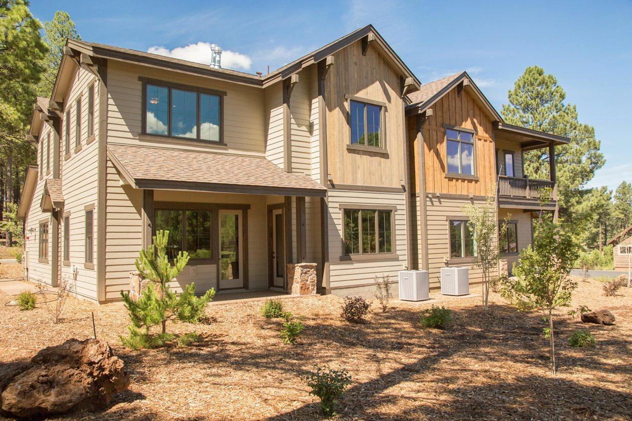 Exterior featured in the Aspen Ridge Plan 2 By Capstone Homes in Flagstaff, AZ