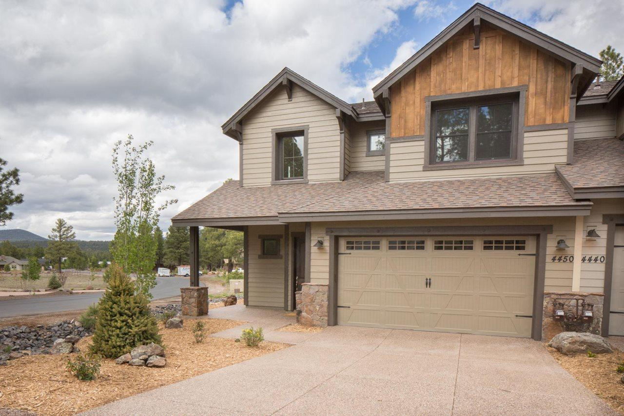 Exterior featured in the Aspen Ridge Plan 3 By Capstone Homes in Flagstaff, AZ