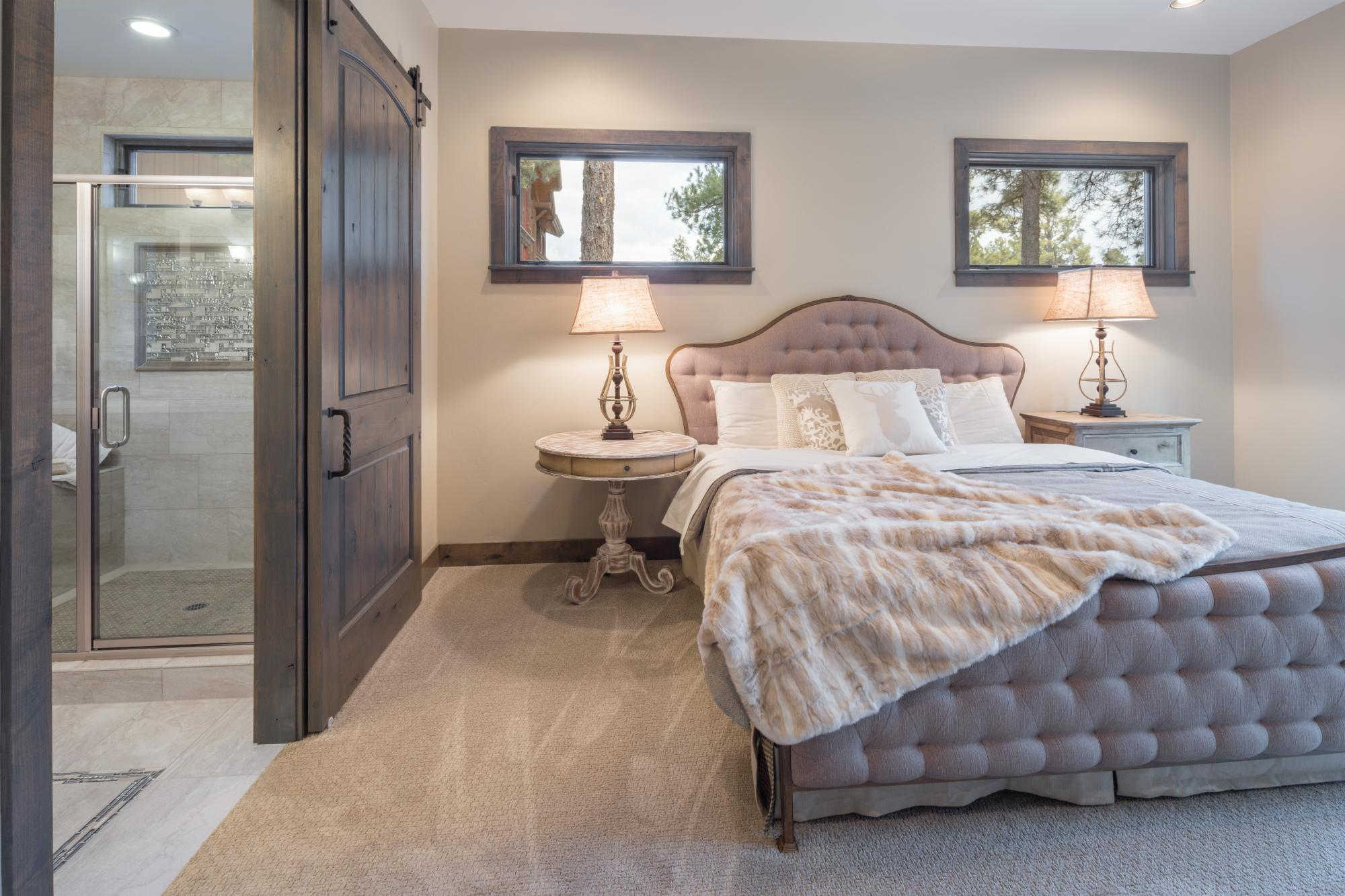 Bedroom featured in the Aspen Shadows Plan 2308 By Capstone Homes in Flagstaff, AZ