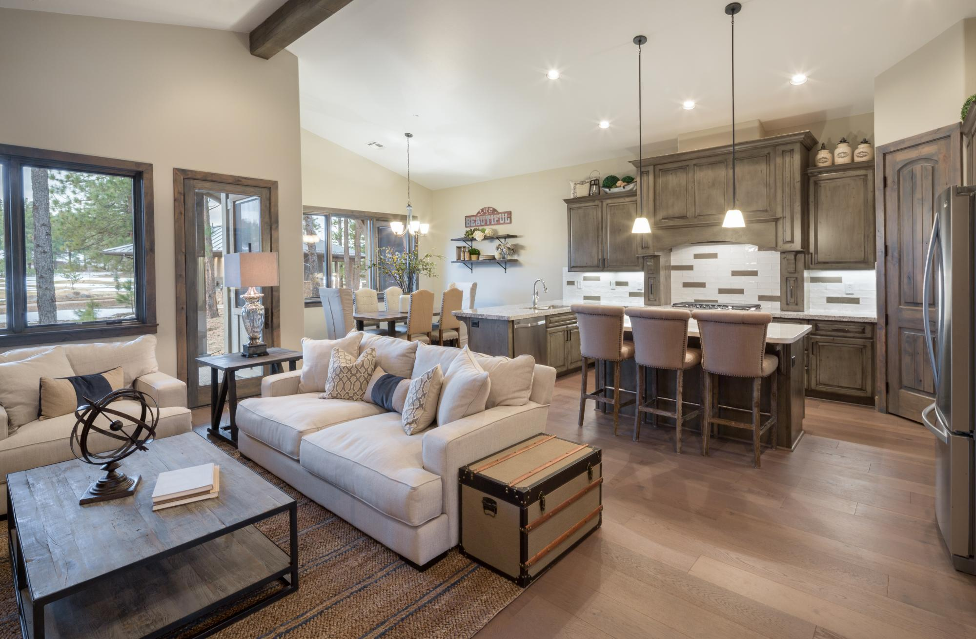 Living Area featured in the Aspen Shadows Plan 2308 By Capstone Homes in Flagstaff, AZ