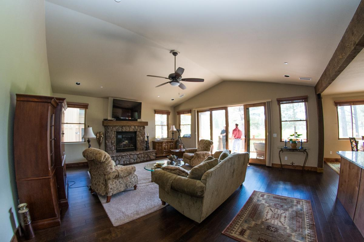 Living Area featured in the Aspen Shadows Plan 2618 By Capstone Homes in Flagstaff, AZ