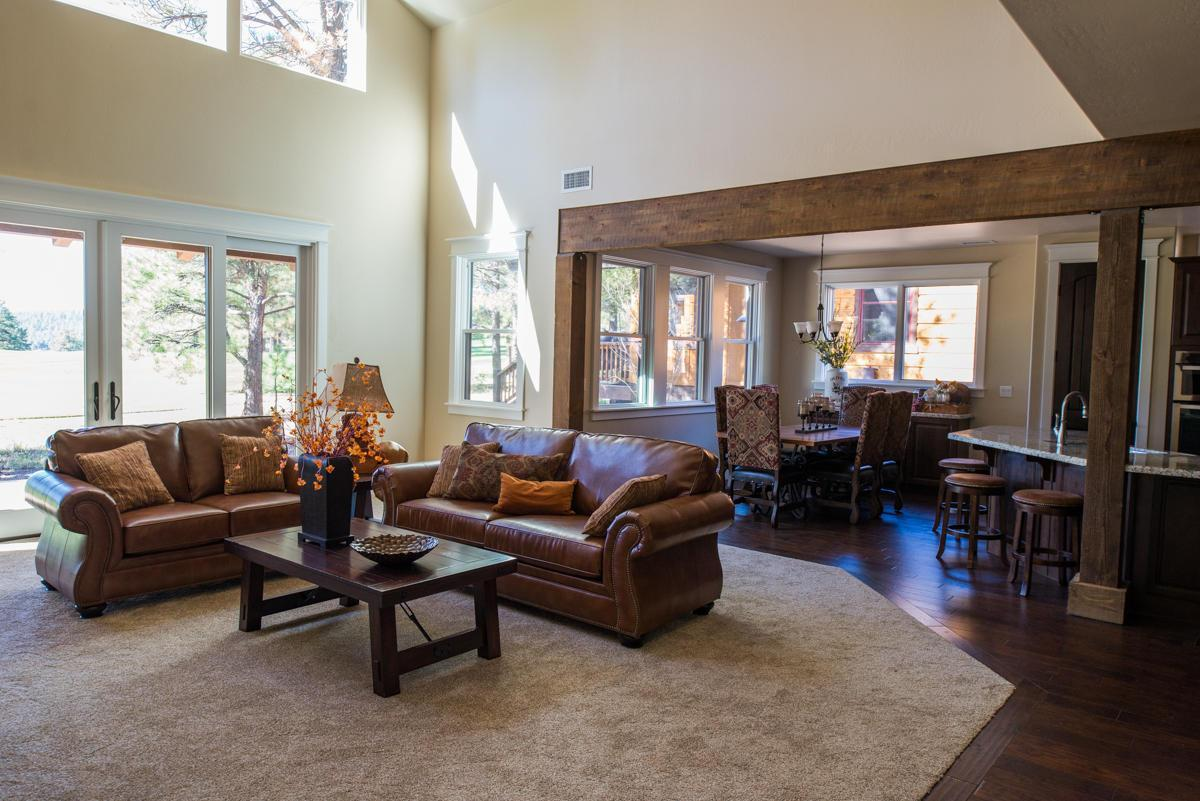 Living Area featured in the Aspen Shadows Plan 2834 By Capstone Homes in Flagstaff, AZ