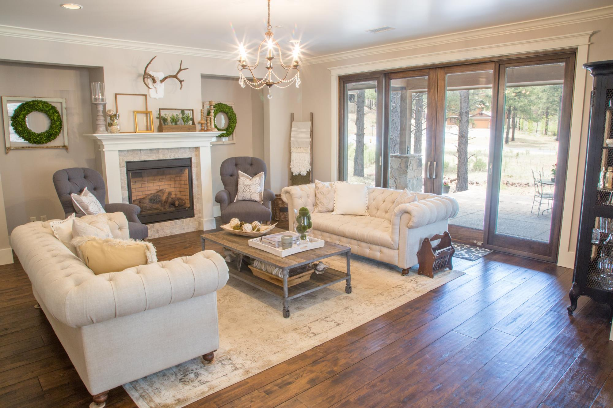 Living Area featured in the Aspen Shadows Plan 3405 By Capstone Homes in Flagstaff, AZ