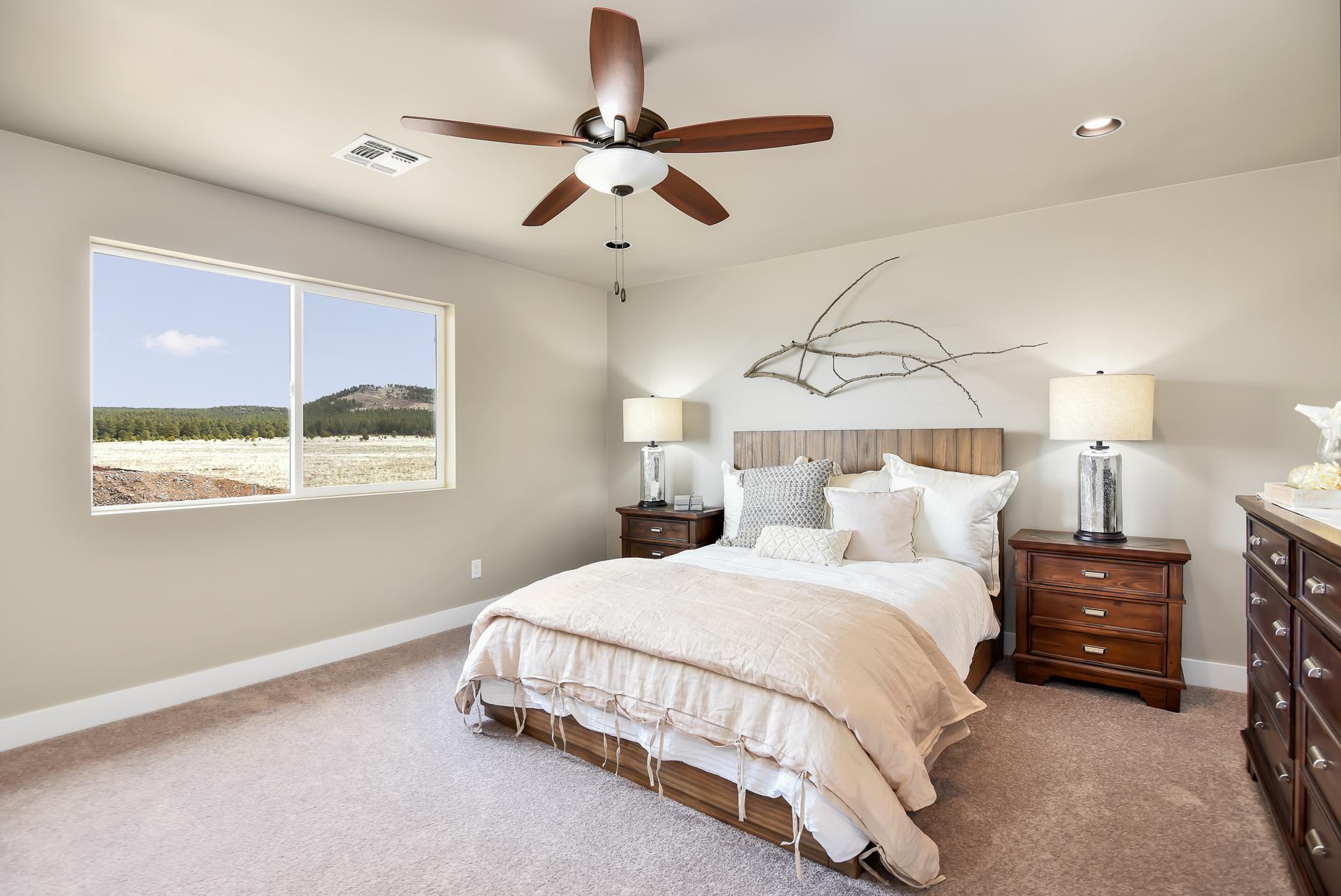 Bedroom featured in the Flagstaff Meadows Plan 1941 By Capstone Homes in Flagstaff, AZ