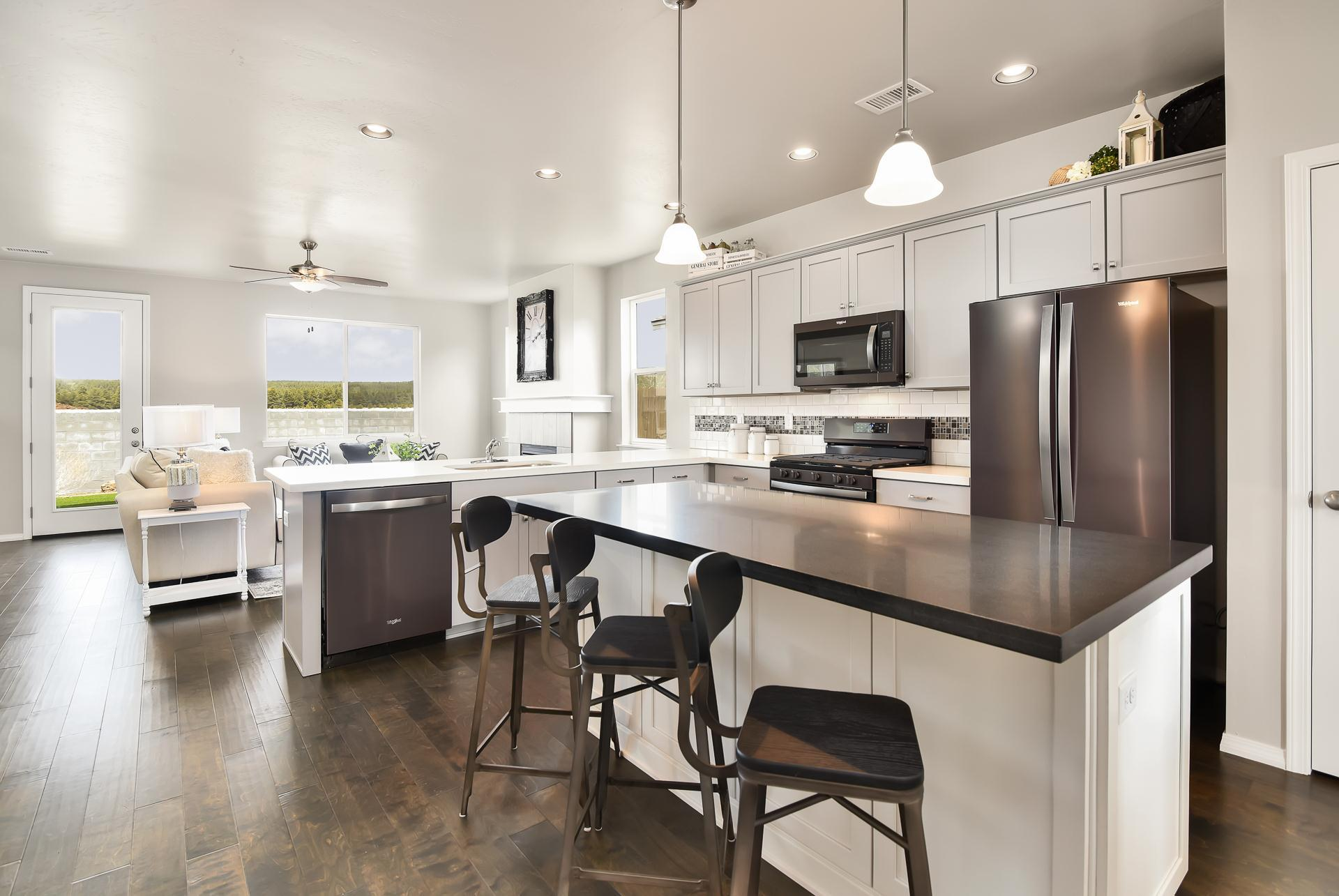 Kitchen featured in the Flagstaff Meadows Plan 2090 By Capstone Homes in Flagstaff, AZ