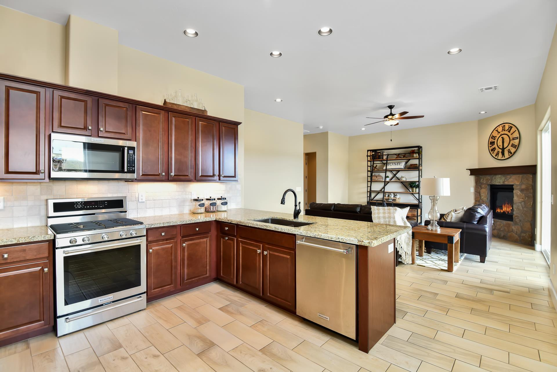 Kitchen featured in the Flagstaff Meadows Plan 1896 By Capstone Homes in Flagstaff, AZ
