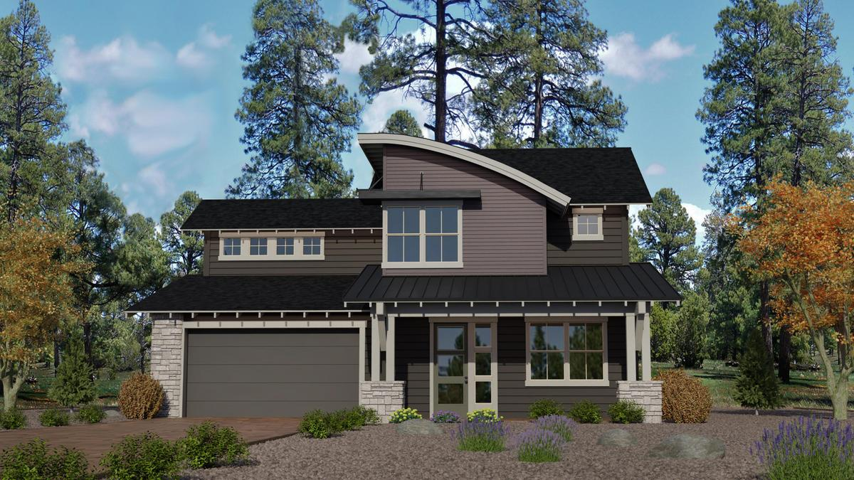 Timber Sky Plan 3222 Elevation B