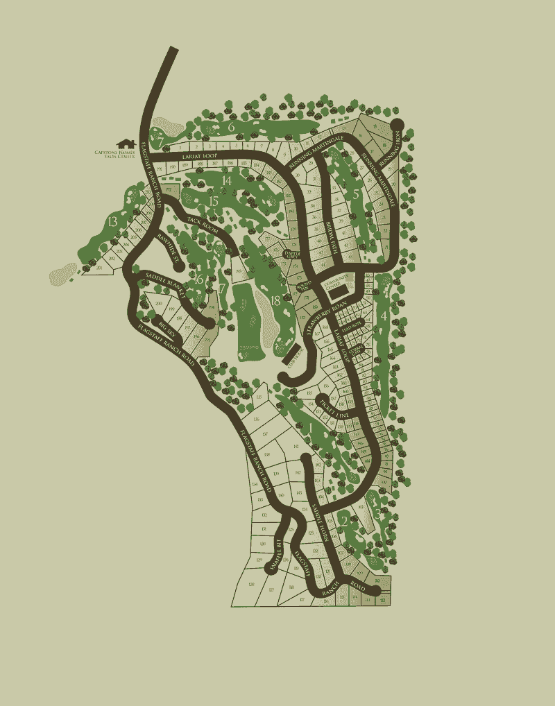Flagstaff Ranch Interactive Map