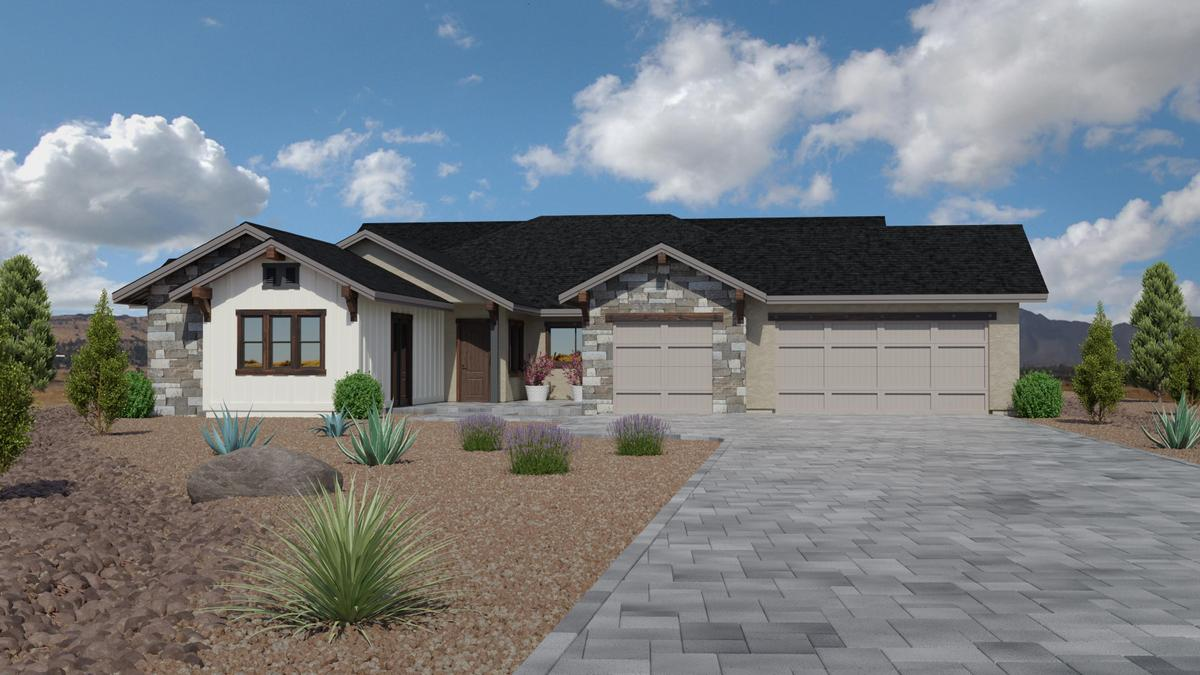 Jasper Plan 3760 - Standard Elevation