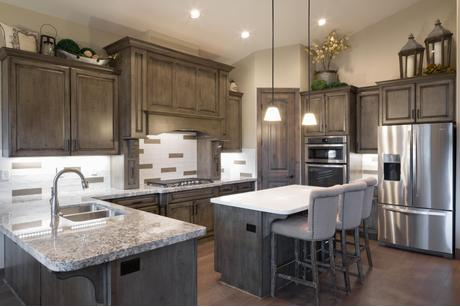 Kitchen-in-Aspen Shadows Plan 2308-at-Capstone Homes at Flagstaff Ranch-in-Flagstaff