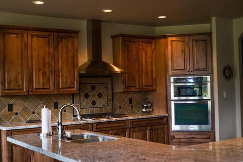 Kitchen-in-Aspen Shadows Plan 2618-at-Capstone Homes at Flagstaff Ranch-in-Flagstaff