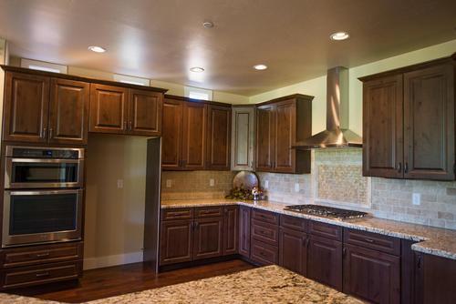 Kitchen-in-Aspen Shadows Plan 2834-at-Capstone Homes at Flagstaff Ranch-in-Flagstaff
