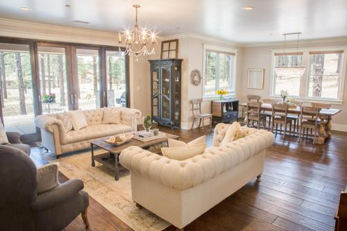 Greatroom-and-Dining-in-Aspen Shadows Plan 3405-at-Capstone Homes at Flagstaff Ranch-in-Flagstaff
