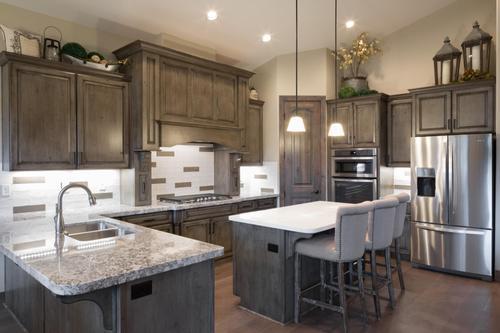 Kitchen-in-Aspen Shadows Plan 2308-at-Capstone Homes at Flagstaff Ranch-in-Flagstaff