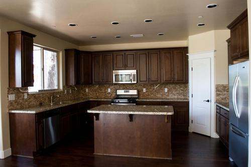 Kitchen-in-Aspen Shadows Plan 2413-at-Capstone Homes at Flagstaff Ranch-in-Flagstaff