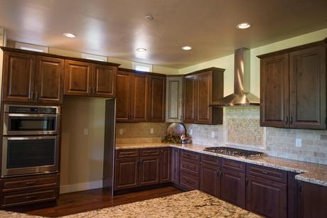 Kitchen-in-Aspen Shadows Plan 2834-at-Capstone Homes at Flagstaff Ranch-in-Flagstaff