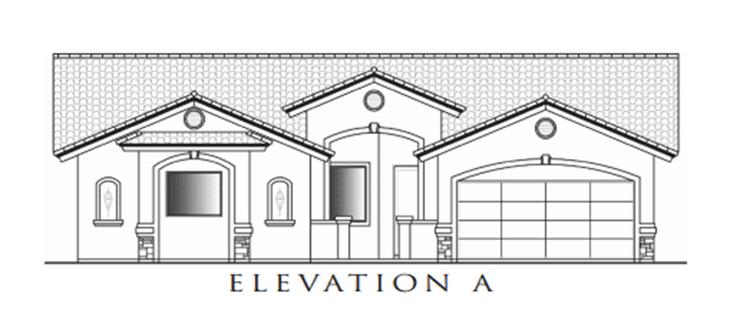 Capistrano Model:Elevation A