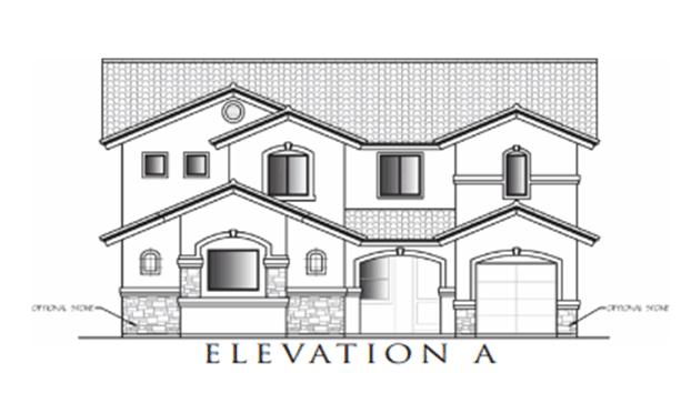 Stratford Model:Elevation A