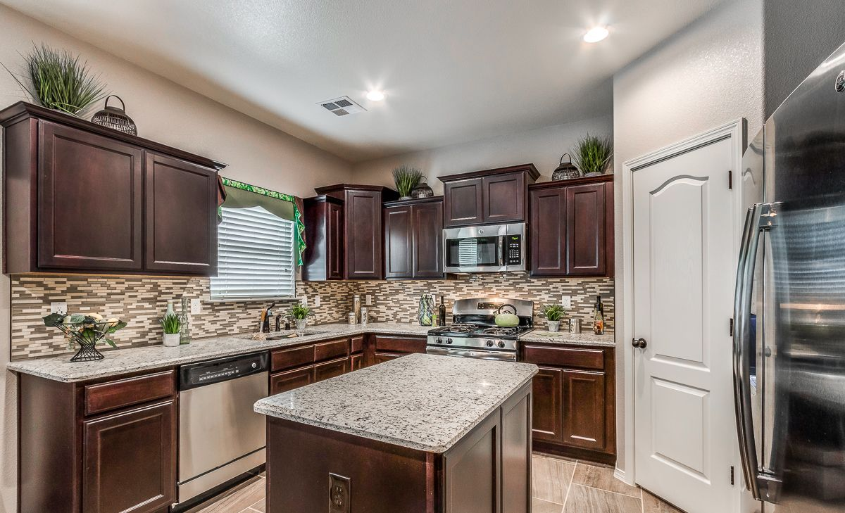 Kitchen featured in the Morocco By CareFree Homes in El Paso, TX