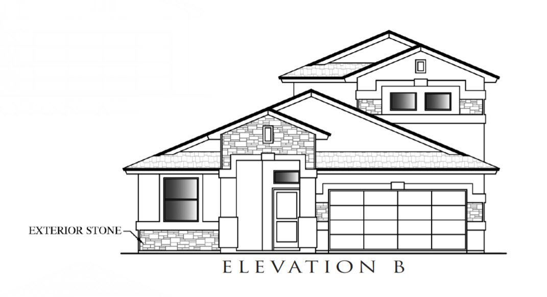 Exterior featured in the Sapphire By Definitive Homes in El Paso, TX
