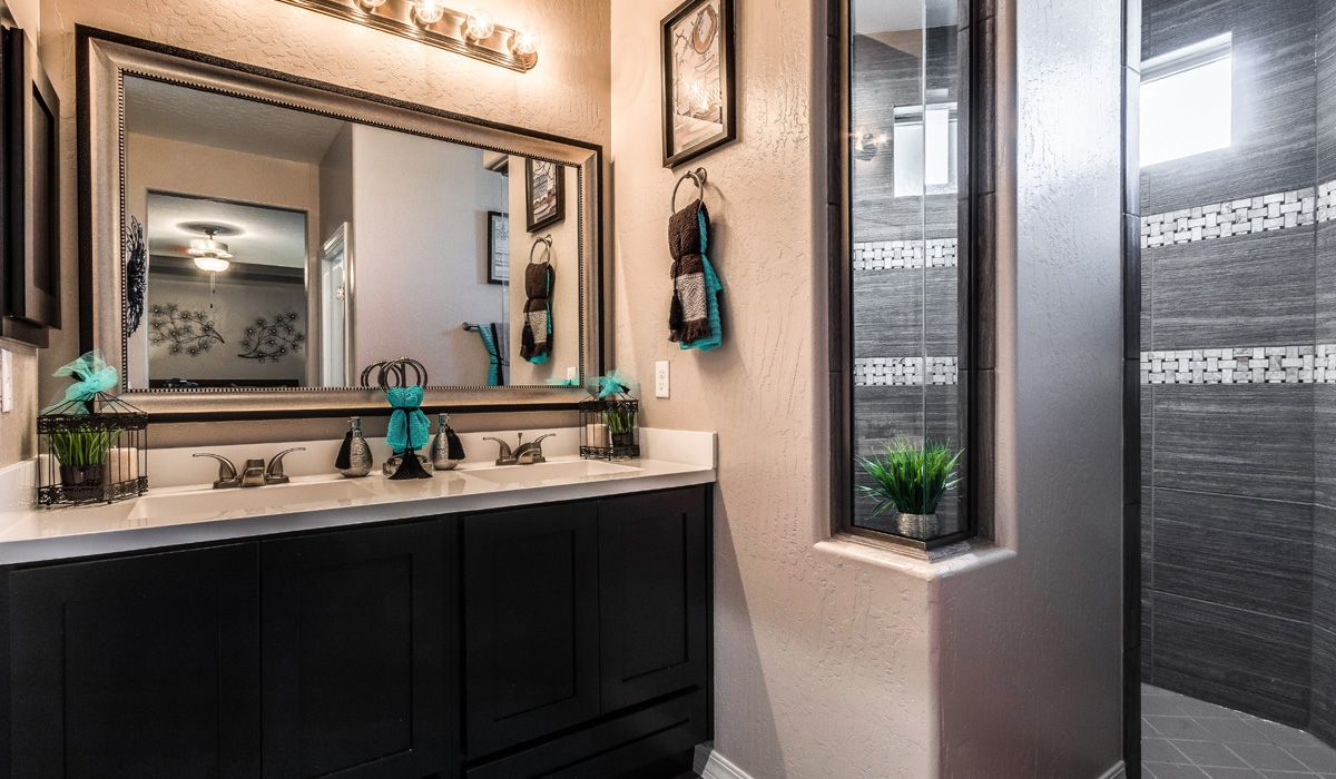 Bathroom featured in the Bombay II By CareFree Homes in El Paso, TX