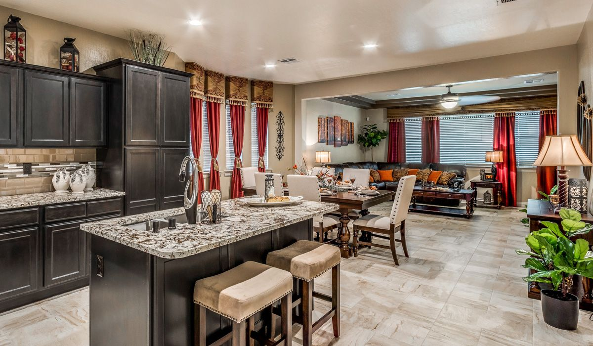 Living Area featured in the Venetian II By CareFree Homes in El Paso, TX