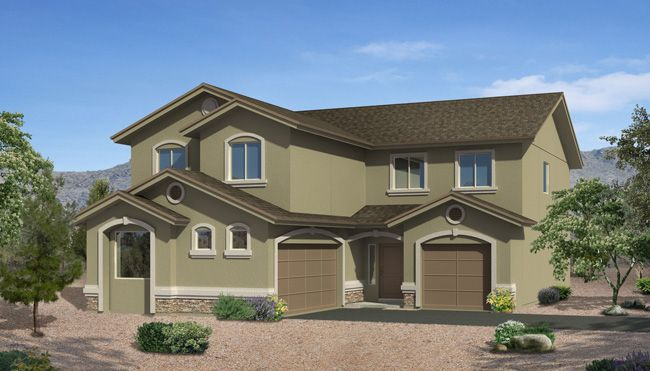Exterior featured in the Carmel By CareFree Homes in El Paso, TX