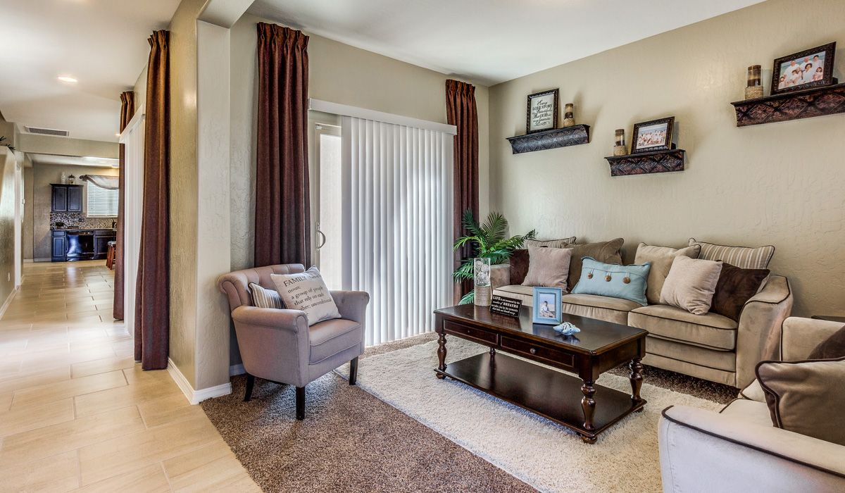 Living Area featured in the Summit By CareFree Homes in El Paso, TX