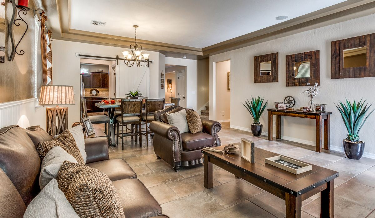 Living Area featured in the Hyland By CareFree Homes in El Paso, TX