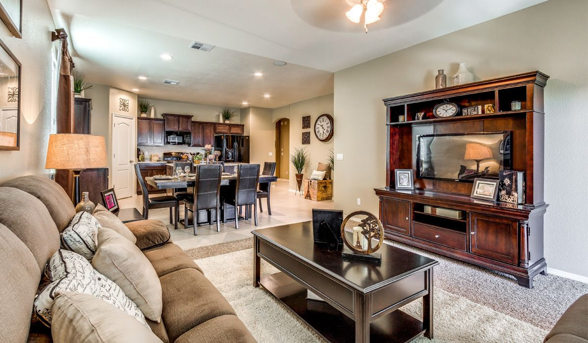 Living Area featured in the Belize By CareFree Homes in El Paso, TX