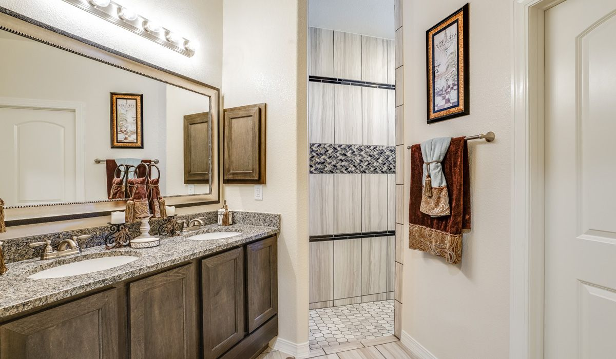 Bathroom featured in the Marbella By CareFree Homes in El Paso, TX