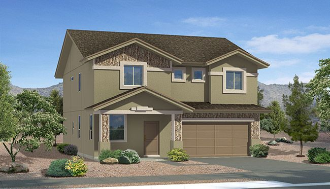 Exterior featured in the Morocco II By CareFree Homes in El Paso, TX